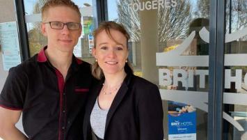 Justine et Jérémy PLANES ont une nouvelle ambition pour leur hôtel repris en 2019.