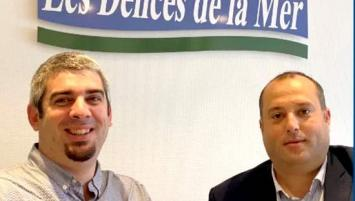 Loïc Marrec et Antoine Tincq, respectivement directeur d'usine et directeur commercial.