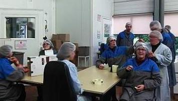 70 salariés en situation de handicap travail au sein de l'atelier de torréfaction de Lobodis