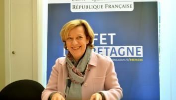 Nommée le mardi 30 octobre, par le Président de la République, en remplacement de Christophe Mirmand, parti au ministère de l'Intérieur, Michèle Kirry est arrivée en Bretagne il y a seulement deux jours, le lundi 19 novembre