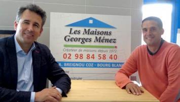 Morgan Fitamant, expert-comptable de métier, est entré au capital aux côtés de Nicolas Marzin, directeur technique de construction, afin d'assurer ensemble la direction et le pilotage de l'entreprise.