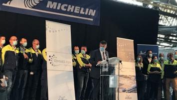 Présentation du nouveau projet de l'usine Michelin à Vannes