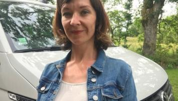 Adeline Dréves, dirigeante de My French Van, à Muzillac (56)