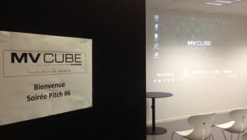 A rennes, MV Cube l'accélérateur de startups du Groupe Médiaveille organise un pitch 100% féminin le 28 mars 2017 dans ses locaux .