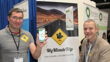 Philippe Berthelot et Johann Prod'Homme viennent de créer à Lannion la startup My MinuteTrip