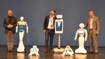 A Rennes NAO, Maava, Waldo et Pepper sont les vedettes de la Digital Tech Conférence