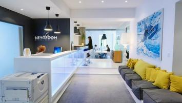 Partage de compétences, échange de services, travail collaboratif, networking,   LA NEWSROOM a ouvert ses portes ce jeudi 1er juin en plein coeur de la capitale bretonne