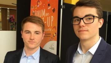 Antoine Ouvrans et Simon Pédrono, co-fondateurs de NFSave à Rennes,  démarrent  la commercialisation d'une fiche-bilan dématérialisée