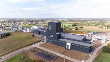 La nouvelle usine Laïta à Créhen