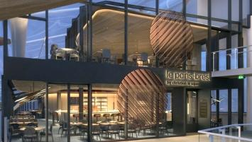 Le Paris-Brest prendra place au premier étage de la gare de Rennes.