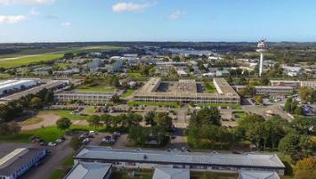 Le parc d'activités Pégase à Lannion concentre quelque 5 000 salariés