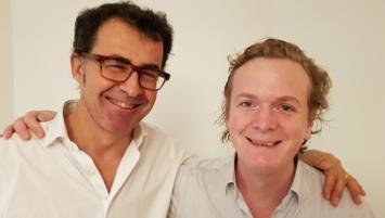 Nicolas Pelletier et Benoît Liénart, les fondateurs de Pledg.