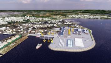 En Bretagne le renouveau du port de Brest aura ainsi bénéficié de 220 millions d'euros d'investissements.