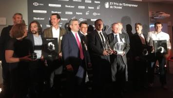 Le 25 septembre, à Nantes  a eu lieu  la soirée de remise des prix de l'Entrepreneur EY Ouest
