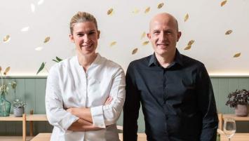 Virginie Giboire et son compagnon Fabien Hacques ouvrent ce mardi 6 octobre à Rennes, les portes de leur nouveau restaurant Racines