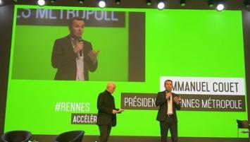Emmanuel Couet, Président de Rennes métropole