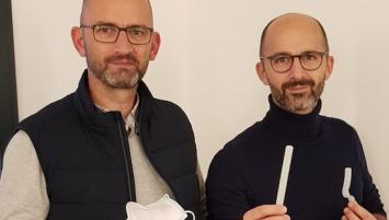 Hugo et Johan Lejeune, inventeurs du Sanbué