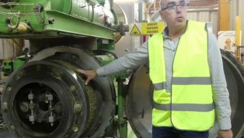Michel Coat, Responsable de l'Usine Sander de Grâce