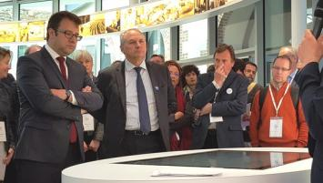 Loïg Chesnais Girard, Président de la région Bretagne et Philippe Monloubou, Président 'Enedis