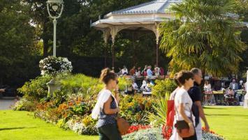 Les Jardins du Thabor à Rennes proposent une visite guidée inclue dans le citypass