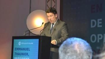 Emmanuel Thaunier , président de la CCI ille-et-Vilaine