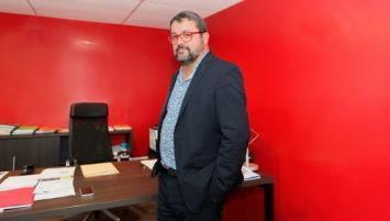 François Coville, président de la Fédération des Travaux publics Bretagne et Morbihan