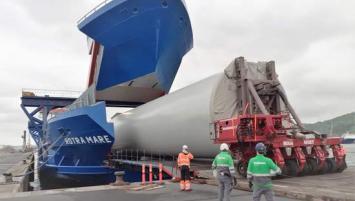 L'assemblage des 62 mâts à Brest s'inscrit dans la continuité du plan industriel initié par Siemens Gamesa Renewable Energy