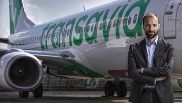 Nicolas Hénin, directeur général adjoint commercial et marketing pour Transavia France.