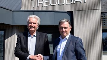 Marcel Treguer, président fondateur de Trecobat, cède la majorité du groupe à Alban Boyé, actuel directeur général