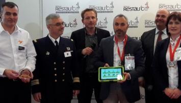 Yves Rallon, dirigeant et fondateur d'ePack Hygiene. récompensé au salon Restau'co pour sa solution ePack Hygiene