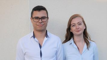 Antoine Royer et Nathalie Cochard, cofondateurs de Unicorn Security