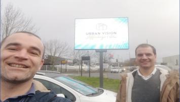 Cédric Viallon et Yoann Grezel créent Urban Vision, nouvel acteur de l'affichage publicitaire
