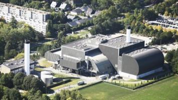 'unité de valorisation énergétique a été construite entre 1966 et 1968 par la Ville de Rennes. Elle est depuis 1995, dans le champ de compétence de la communauté d'agglomération Rennes Métropole qui en assume la responsabilité.