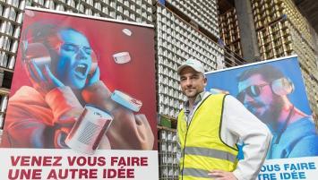 Maël Chevalier, nouveau directeur général de l'entreprise Crown à Concarneau