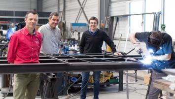 Yves Martin , Hervé Martin et Guénolé Wendling ont créé Verrière Factory en septembre 2017