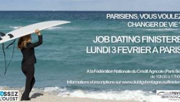 Les entrepreneurs finistériens se déplacent le 3 février à Paris pour recruter de nouveaux talents.