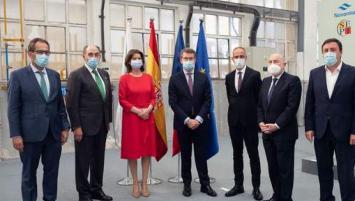 .2ème en partant de la gauche : Ignacio Galan, Président d'Iberdrola