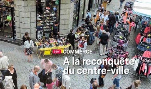 Le commerce breton à la reconquête du centre- ville : à la Une  du dernier numéro de Bretagne Economique