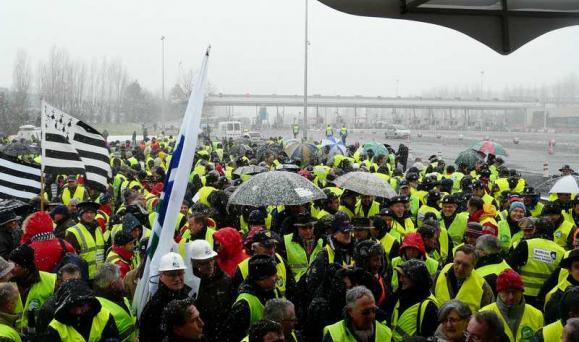 Ecotaxe poids-lourds, l'économie bretonne pourra-t-elle la supporter ?