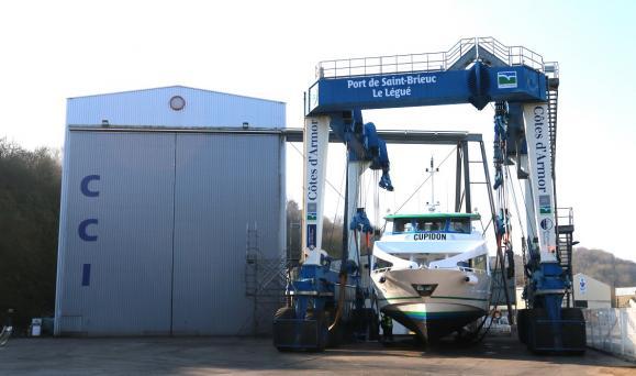 La réparation navale un atout majeur en Côtes d'Armor