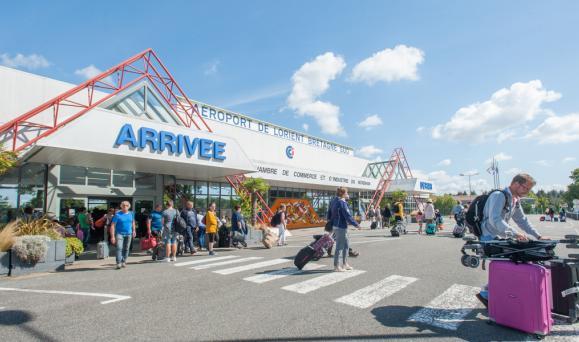 Aéroport de Lorient Bretagne Sud : être connecté à un hub international