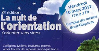 La nuit de l'orientation 10 mars 2017 à Brest