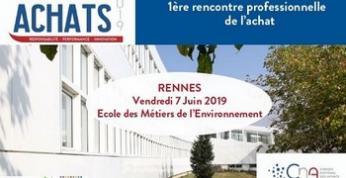 Rennes : le 7 juin, participez la rencontre professionnelle de l'Achat en Bretagne
