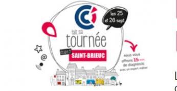 Du 25 au 26 septembre, la CCI 22 fait sa tournée à Saint-Brieuc