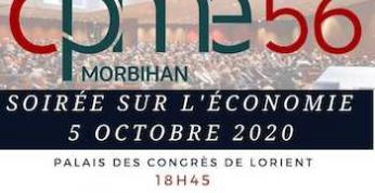 L'Economie en question. La CPME 56 organise un débat le lundi 5 octobre à Lorient