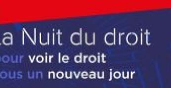 Lundi 4 octobre 2021. En Bretagne, Rennes et Vannes célèbrent la Nuit du Droit