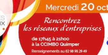 QUAI DES RÉSEAUX, c'est le 20 octobre à la CCIMBO Quimper