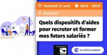 Rendez-vous le 23 avril avec la CCI Côtes d'Armor et les partenaires de l'emploi