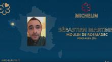 Sébastien Martinez, chef du restaurant Le Moulin de Rosmadec, une étoile au Guide Michelin 2021