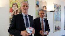 Guy Le Bars, président du conseil d'administration et Christian Couilleau, directeur général d'Even